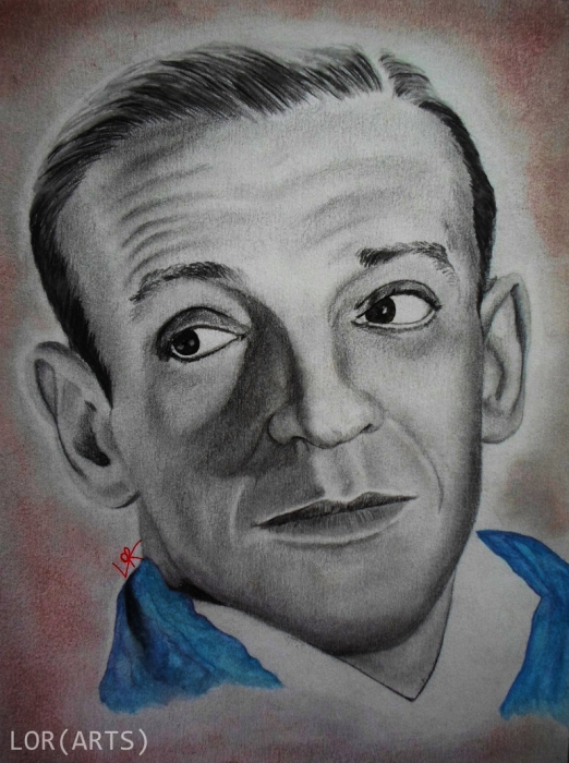 Fred Astaire by Laulau
